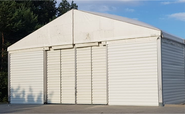 hala przemysłowa namiotowa