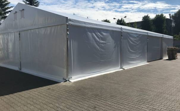 hala namiotowa wynajęta od Hale Namioty S.C